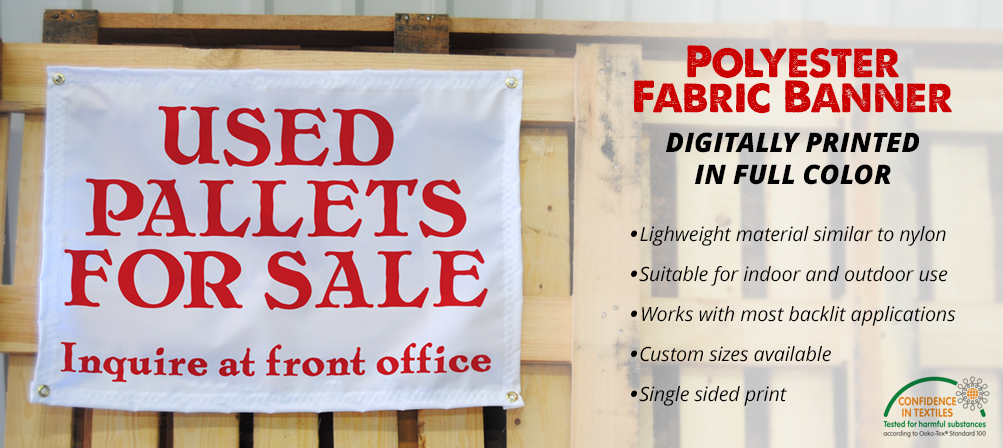 Fabric Banners, Nylon and Canvas Types | Amtek Signs